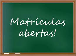 MATRÍCULAS 2021/2022 - Educação Pré-escolar e 1.º Ano do 1.º Ciclo