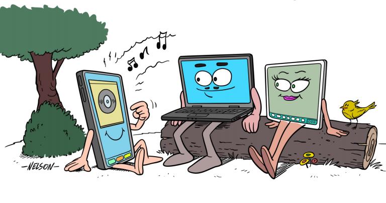 Uso saudável da tecnologia nas férias