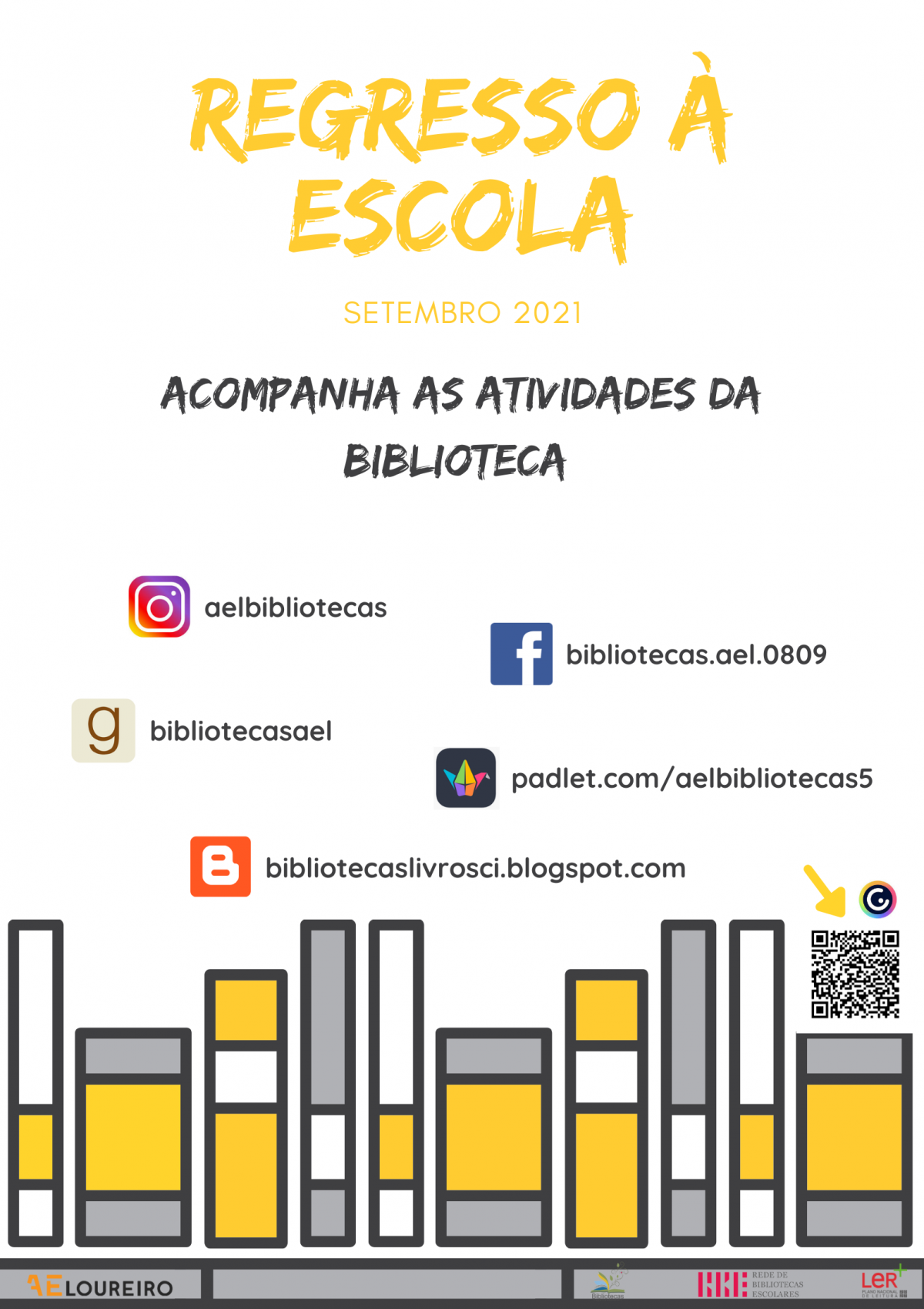 REGRESSO À ESCOLA - BIBLIOTECA