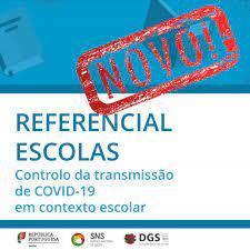 Referencial Escolas - Controlo da transmissão do COVID19