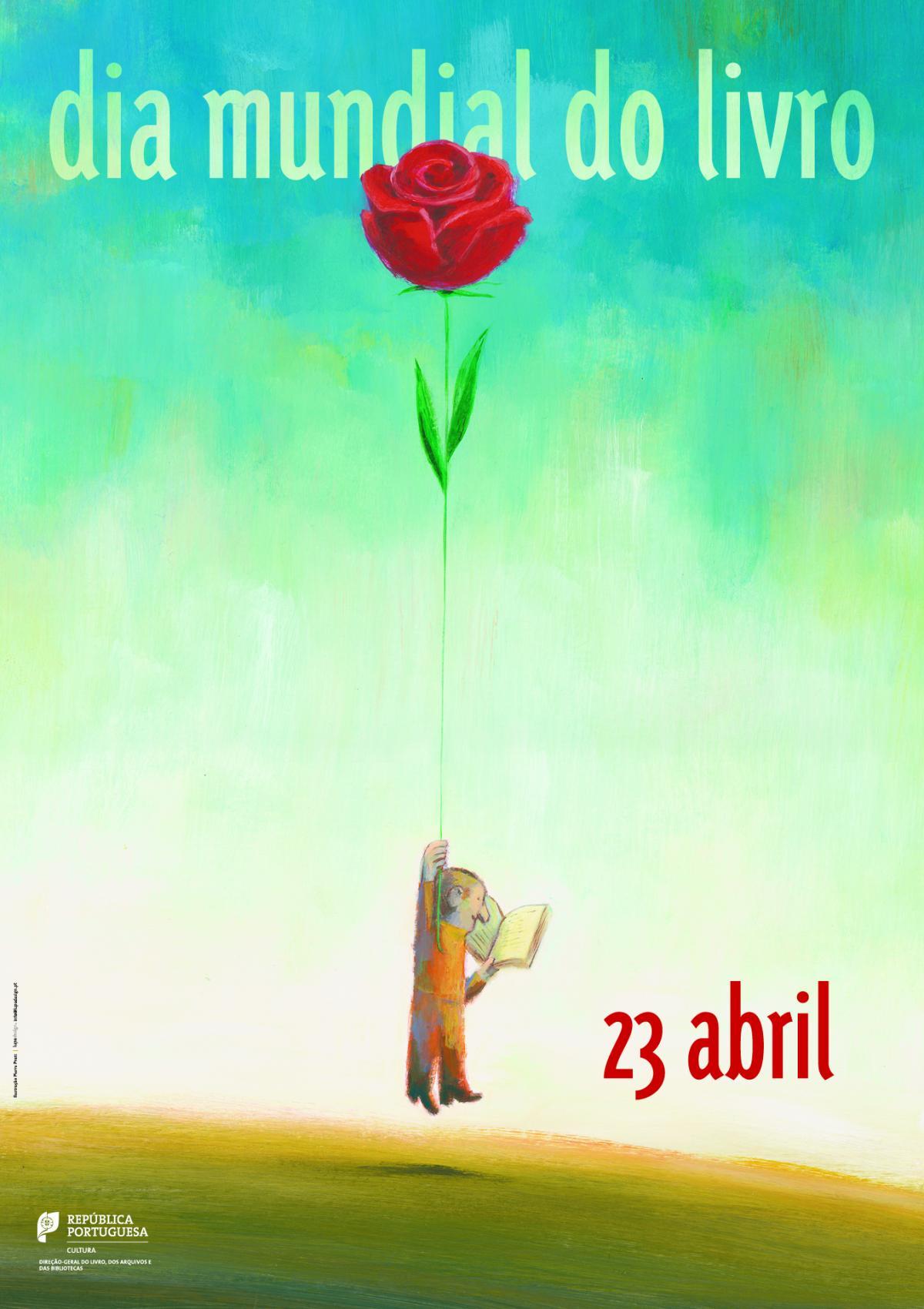 23 de abril: Dia Mundial do Livro e dos Direitos de Autor